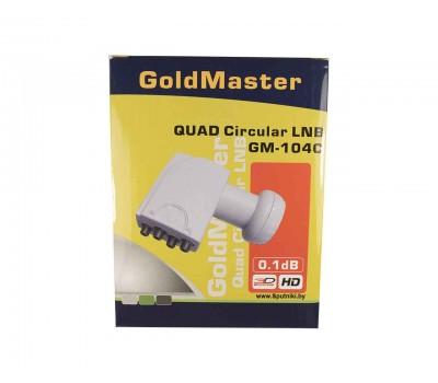 Конвертор круговой GoldMaster GM–104C (Quad 4 выхода)