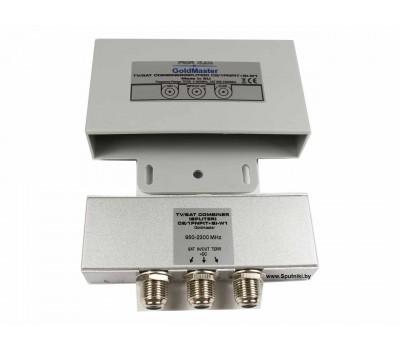 Диплексер GoldMaster C2/1PNP(T+S)–W1 (2x1)